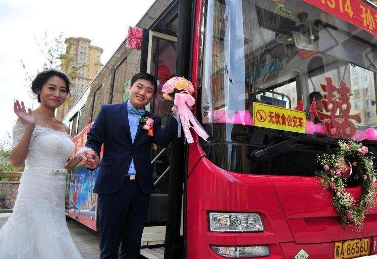 西安婚庆大巴车租赁