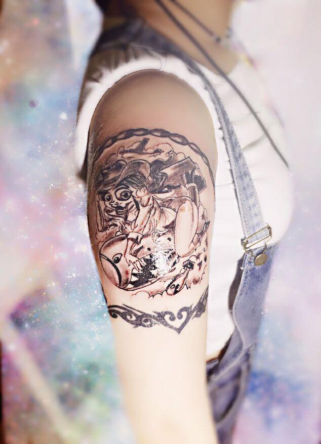 西安肖像纹身西安专业洗纹身纹身设计哪家好