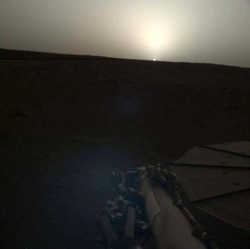 火星日落RAW版本图
