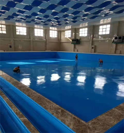 游泳池防水补漏