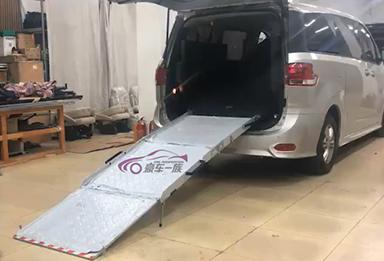 轮椅上车导板a