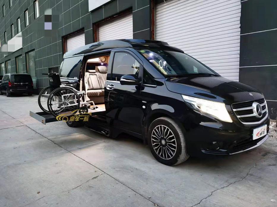 奔驰福祉车改装轮椅升降机福祉座椅定制中心