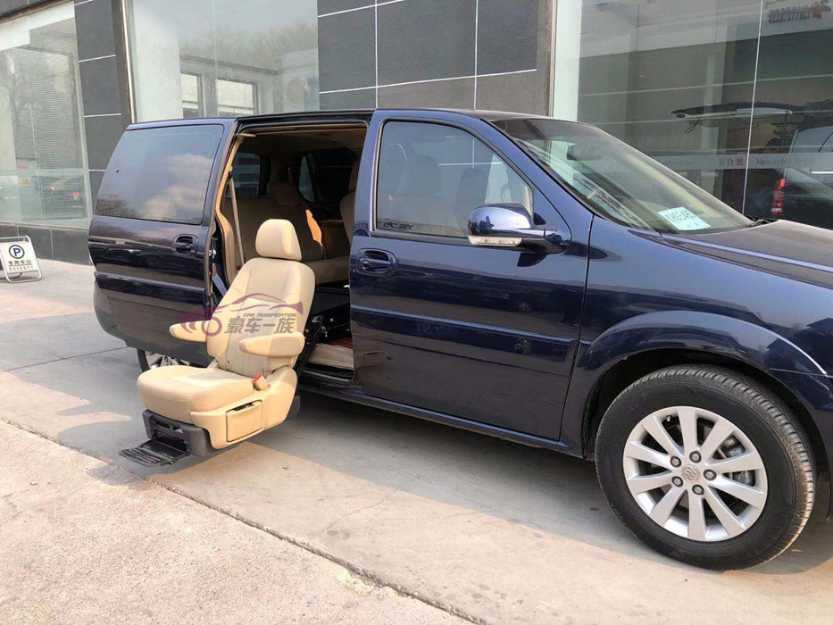 豪车一族改装别克GL8福祉座椅残疾人汽车座椅案例