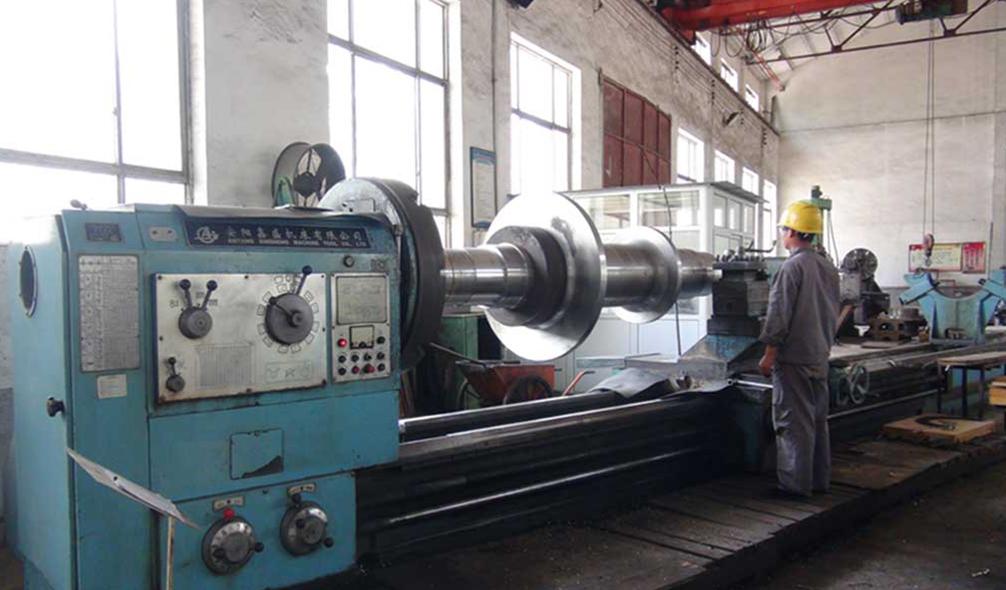 豫兴煤机老厂区-主轴制作工序