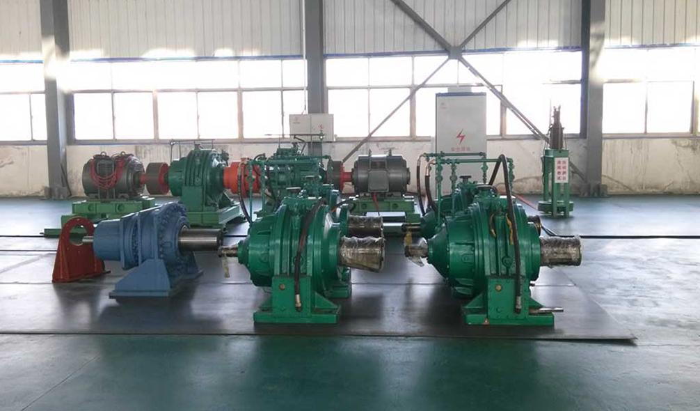 豫兴煤机新厂区-减速器存放处