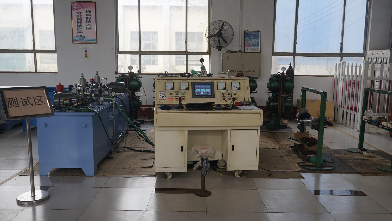 豫兴煤机厂区-制动系统测试区