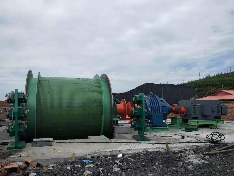 鹤壁豫兴客户案例-东北之JK-3.0矿井提升机