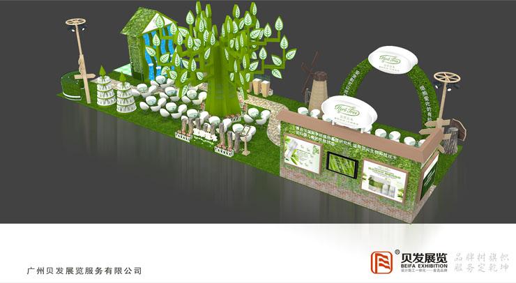 色彩搭配在广州展台设计搭建中有什么重要性