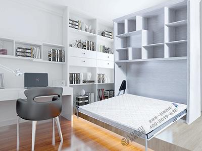 全铝伸缩床书柜