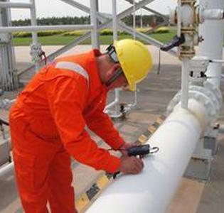 天然气管道检查