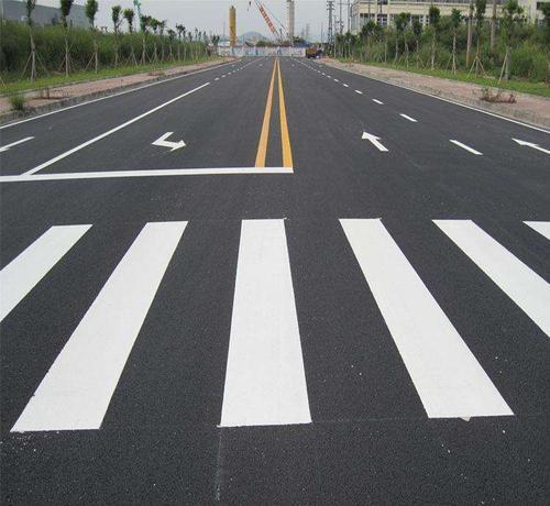 福州马路划线