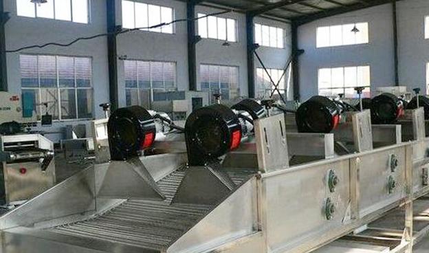 不锈钢网带干燥输送机