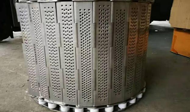 冲孔式不锈钢链板定制