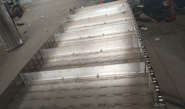 提升机专用挡板式链板