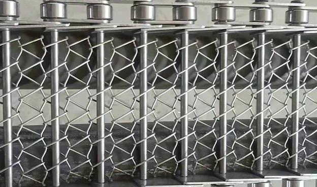 不锈钢网链生产