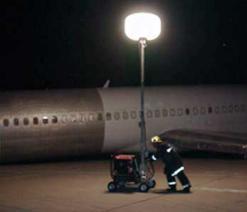 移动照明设备在机场的运用