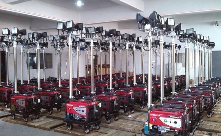 拖车式移动照明灯成为移动照明灯行业发展的方向