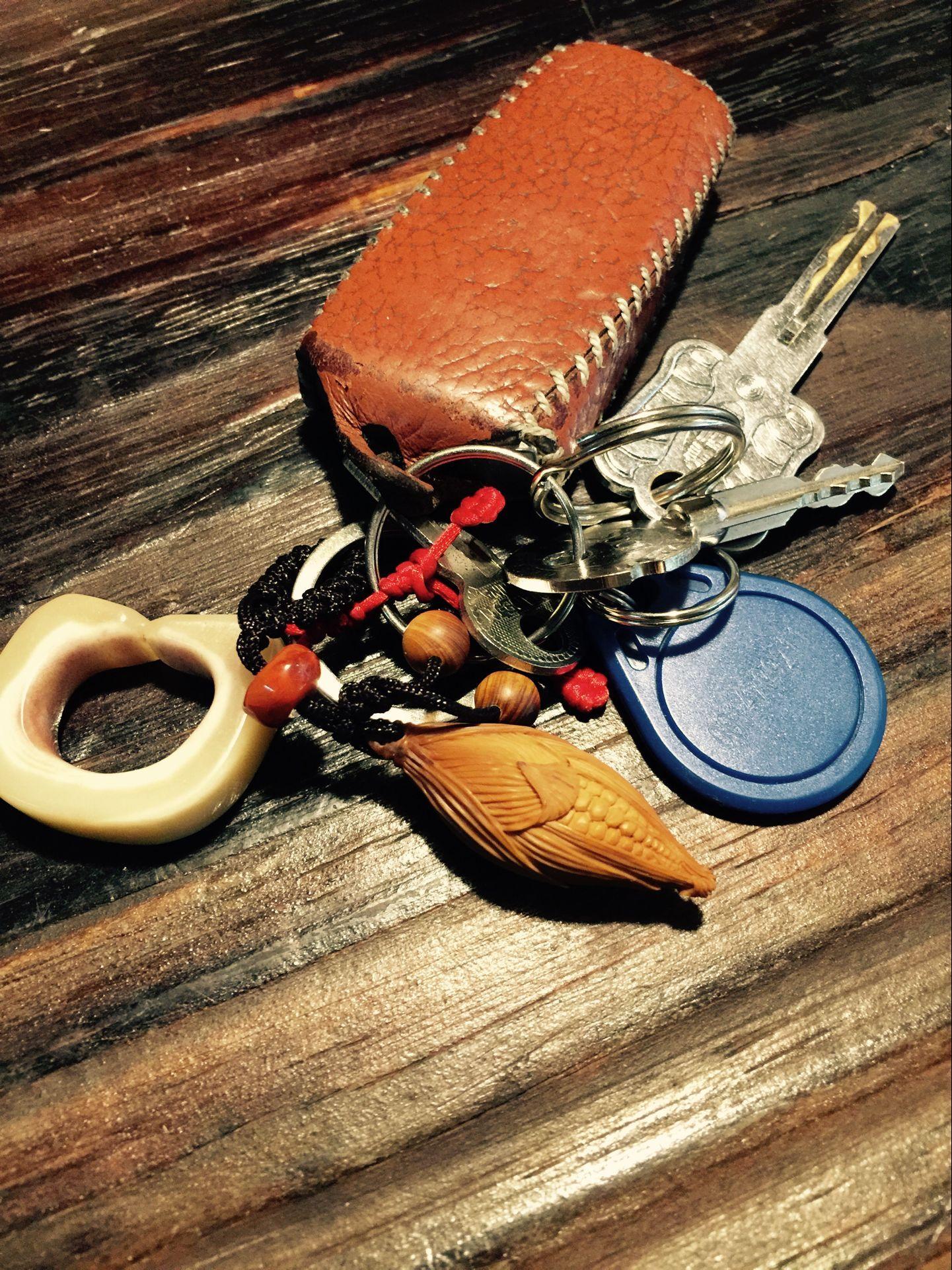 橄榄核钥匙扣展示