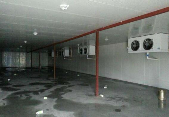 冷库安装过程中冷库风幕机如何安装?