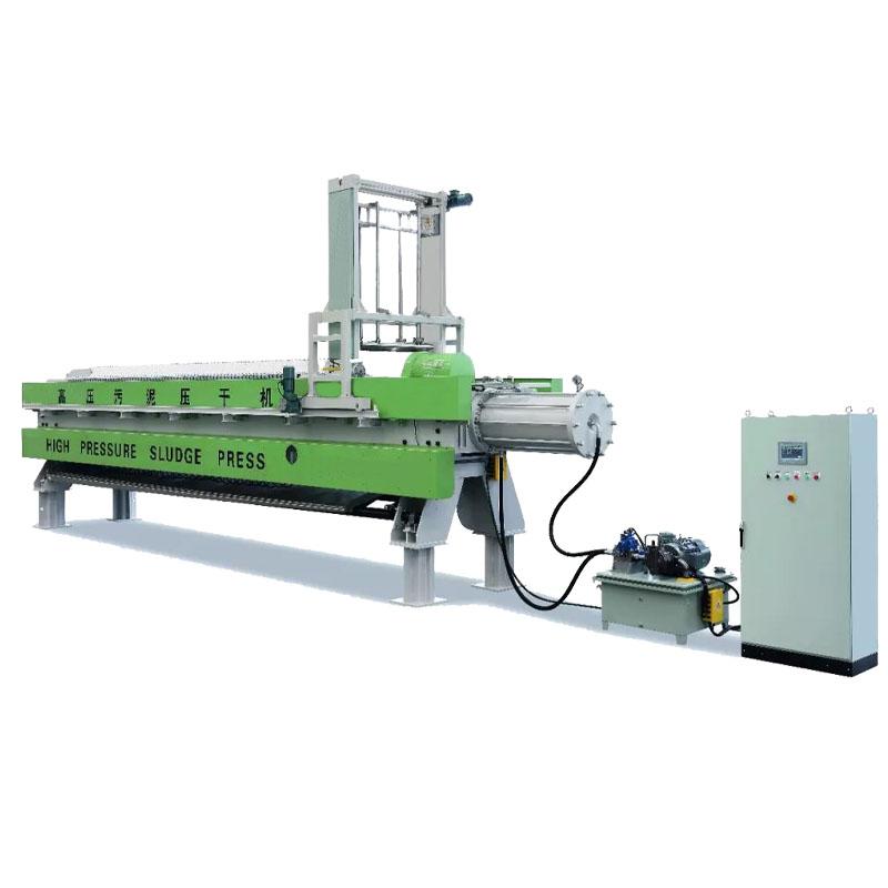 程控自动水洗滤布压滤机