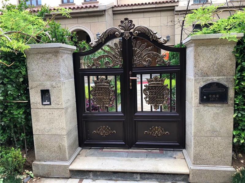 庭院铝艺小门