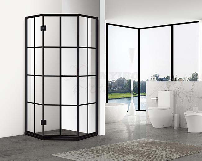 卫生间弧形淋浴房
