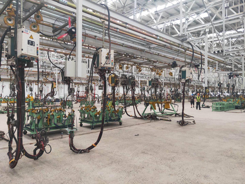 重庆汽车焊装钢构