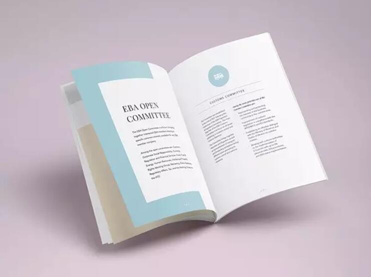 简约风格画册设计作品赏析