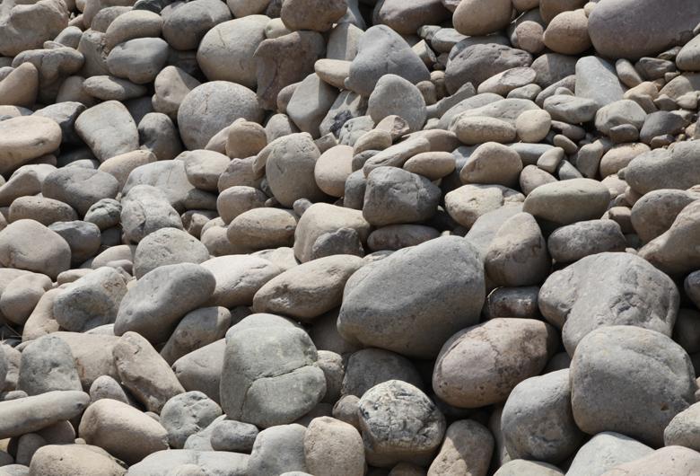 大型鹅卵石