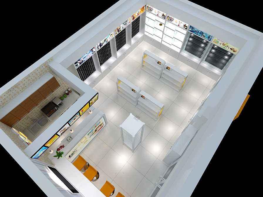 店面装修材料选择色彩的搭配才能够获得理想装修效果