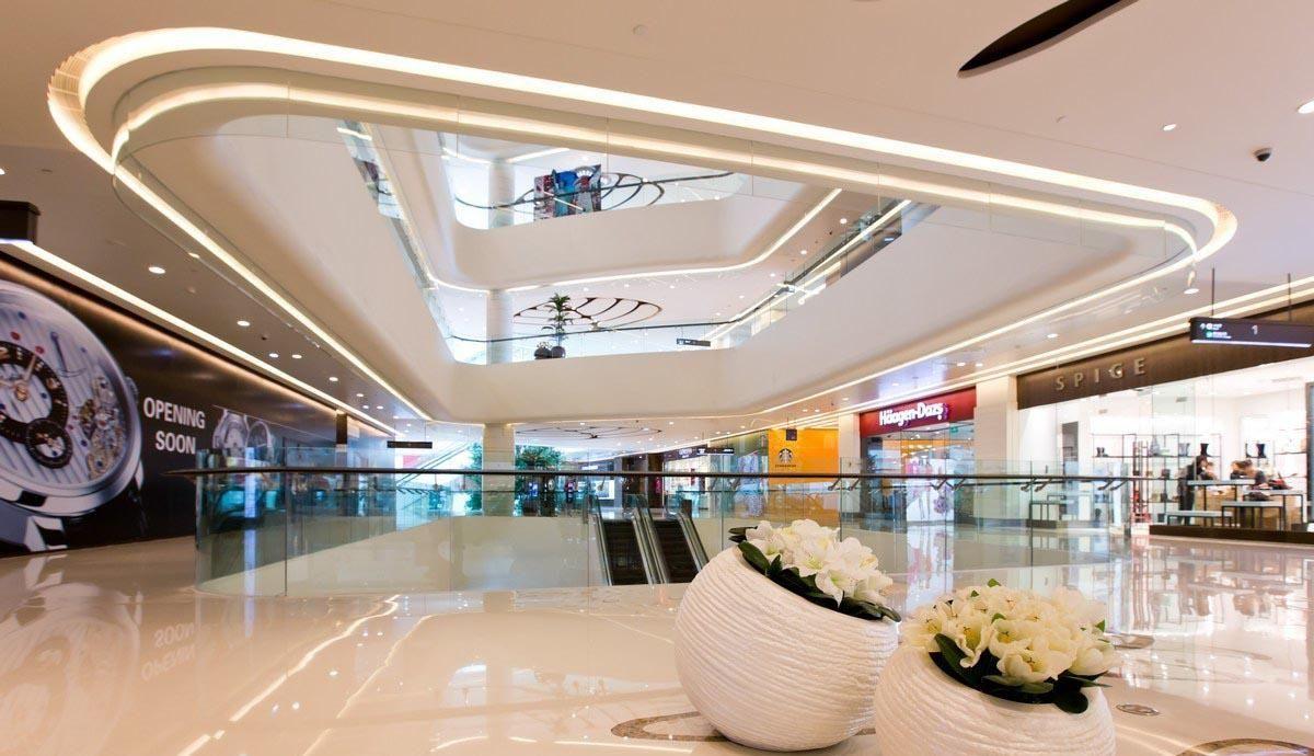 商场装修设计风格之4要素