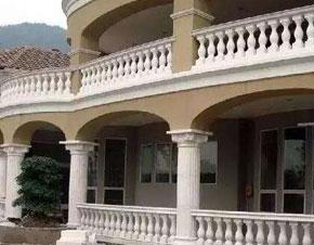 阳台石栏杆出现裂纹怎么快速修复?