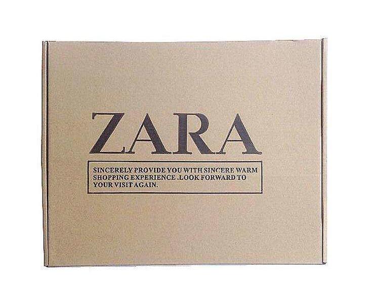 长丰和zara合作纸盒