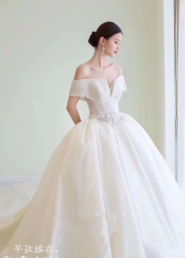 高端婚纱定制-款式⑦