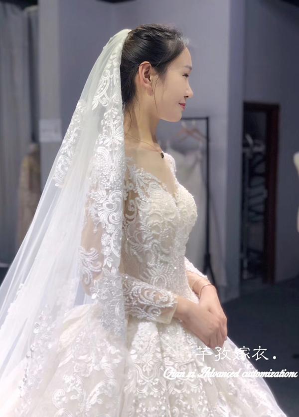 高端婚纱定制-款式⑩