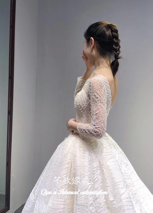 高端婚纱定制-款式13
