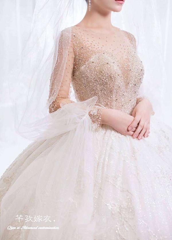 高端婚纱定制-款式15