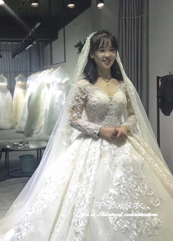 高端婚纱定制-款式22