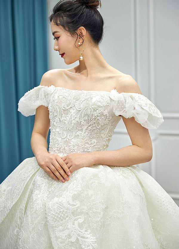 高端婚纱定制-款式37