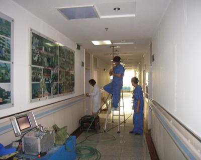 学校中央空调清洗