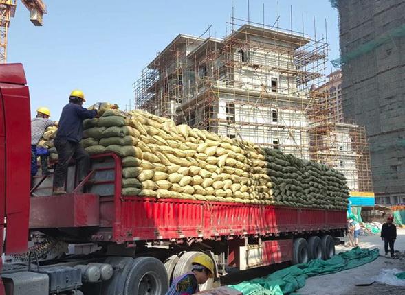 创盈建筑回填陶粒批发运往唐山…