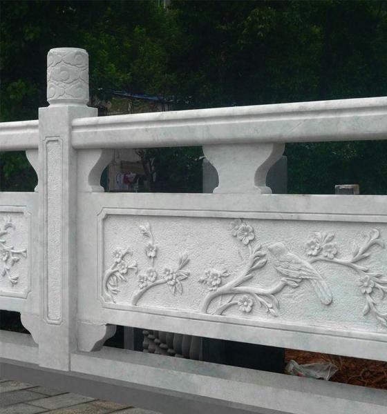 定制的大理石石材栏杆使用久了,有瑕疵怎么办呢?
