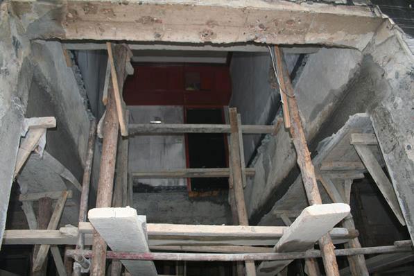 在河南墙体改钢梁施工前需要做一些预备工作