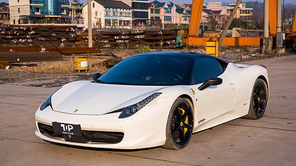 法拉利-458白-超跑