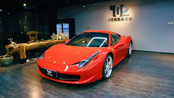 法拉利458-红-超跑