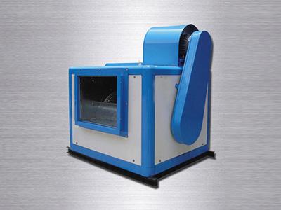 在使用中排烟风机箱的导叶与扩压器的作用!