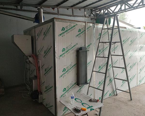 三明空气能烘干机采用热风循环系统