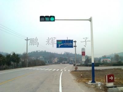 八棱灯杆道路交通信号灯案例