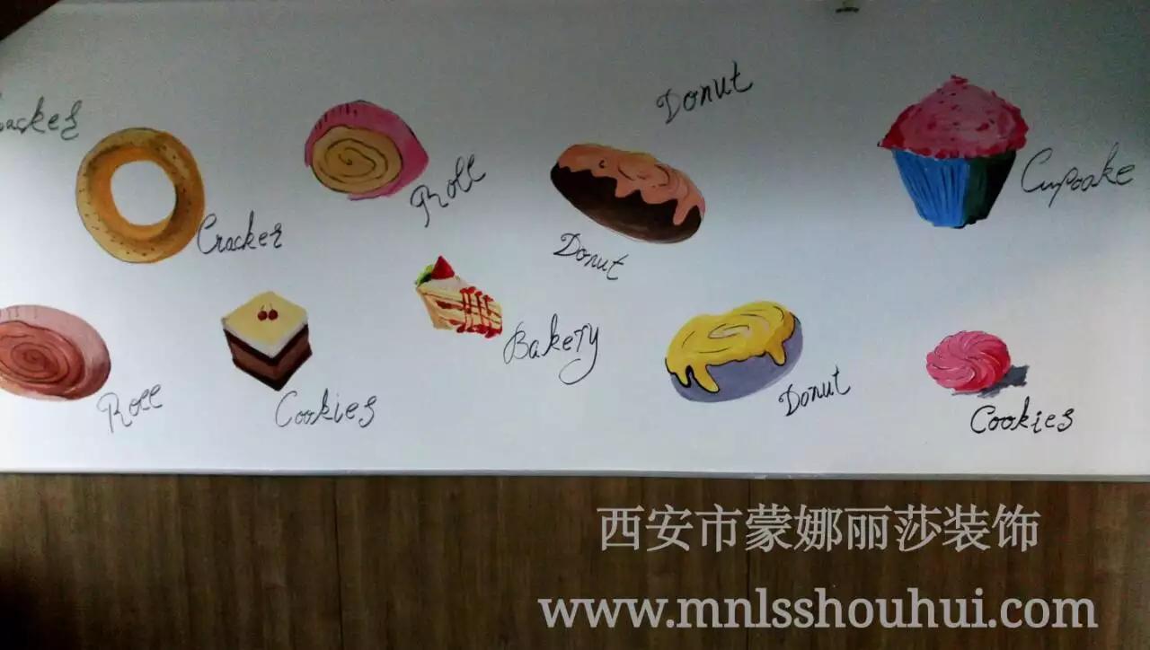 御品轩工厂展厅墙体彩绘
