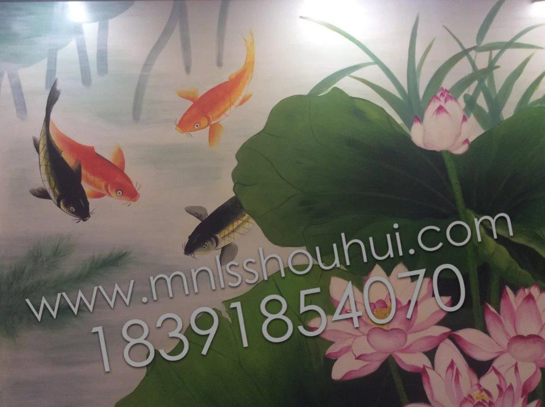 武威市酒店包厢手绘墙